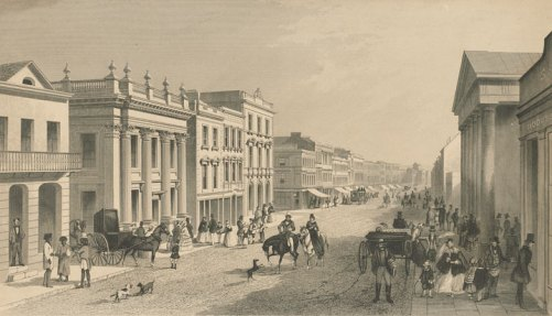 George st sydney 1855 state library