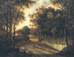 View near Seven Oaks, Kent. Painted by Patrick Naysmith in 1820 (Tate.Museum)