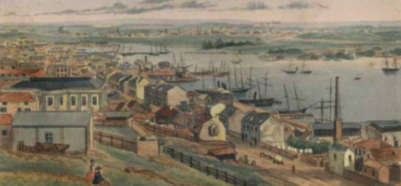 Sydney Harboour 1855