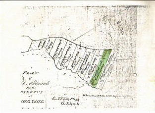 Grant of land at Bong Bong
