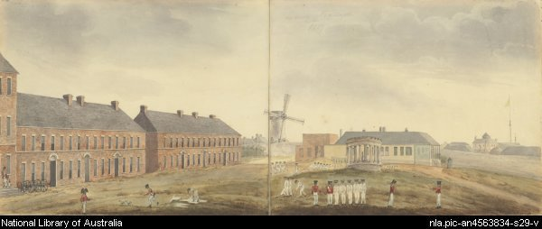 MILITARY BARRACKS 1826