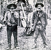Cedar getters, NSW late 1800s. National Library of Australia