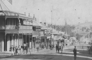 Wallace Street, Braidwood 1856