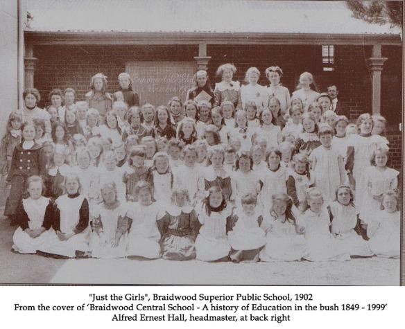 Just the Girls at Braidwood 1902
