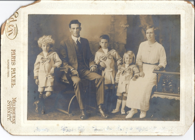 Stephen;  Francis Albert, Father; Francis; Ernest Roy;  Sarah Beatrice, Mother