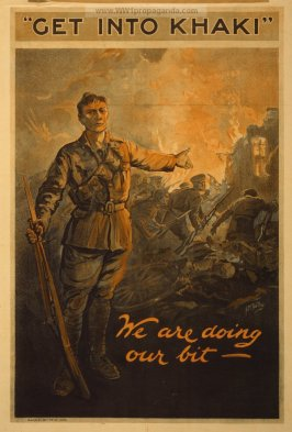 World War I recruiting propaganda