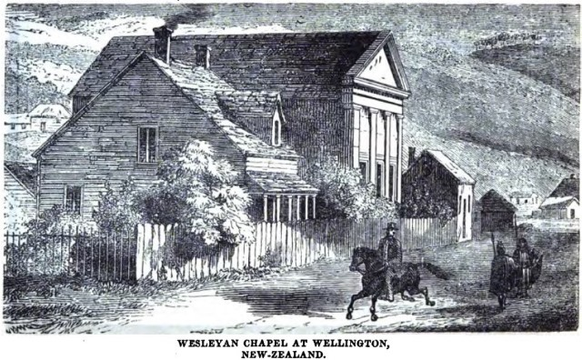 Wesleyan_Chapel_at_Wellington,_New-Zealand_(p.6,_January_1857)_-_Copy