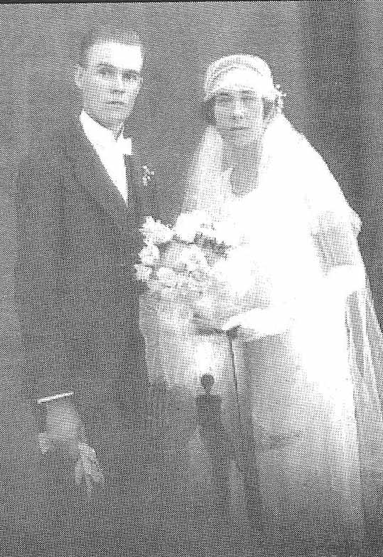 Albert and Beryl Wedding